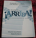 Workbook and Lab Manual to Accompany Arriba, Fourth Edition